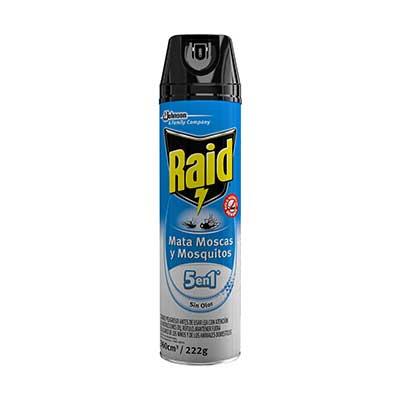 Raid® Mata Moscas y Mosquitos Sin Olor