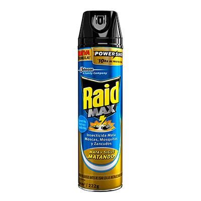 Raid® Mata Moscas y Mosquitos Max