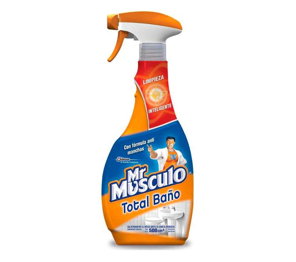 MR MÚSCULO BAÑO