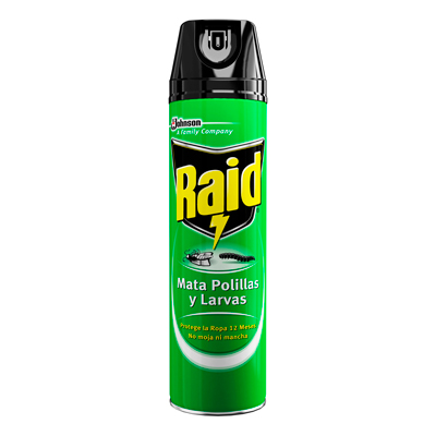 Raid® Mata Polillas y Larvas