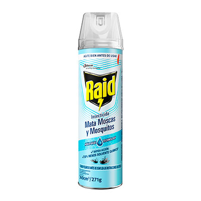Raid® Mata Moscas y Mosquitos Eficacia Segura