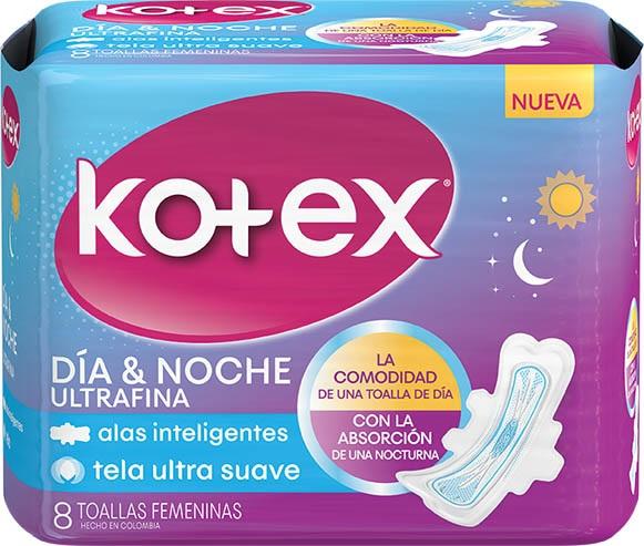 Kotex ® Toallas Noche